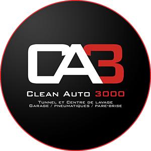 Cette image est le logo de l'entreprise Clean Auto 3000
