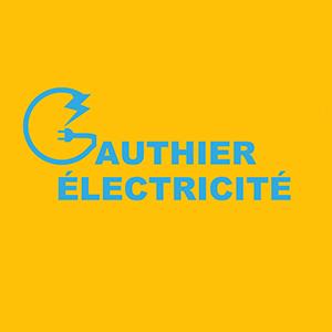 Cette image est le logo de l'entreprise Gauthier Electricité