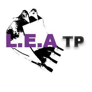 Cette image est le logo de l'entreprise LEA TP