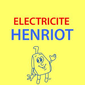 Cette image est le logo de l'entreprise electricité Henriot