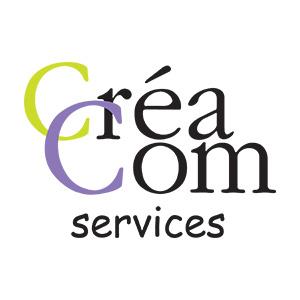 Cette image est le logo de l'entreprise Créacom services