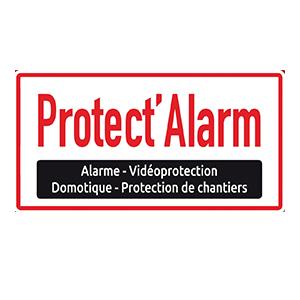 Cette image est le logo de l'entreprise Protect'alarm