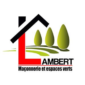 Cette image est le logo de l'entreprise Lambert Maconnerie